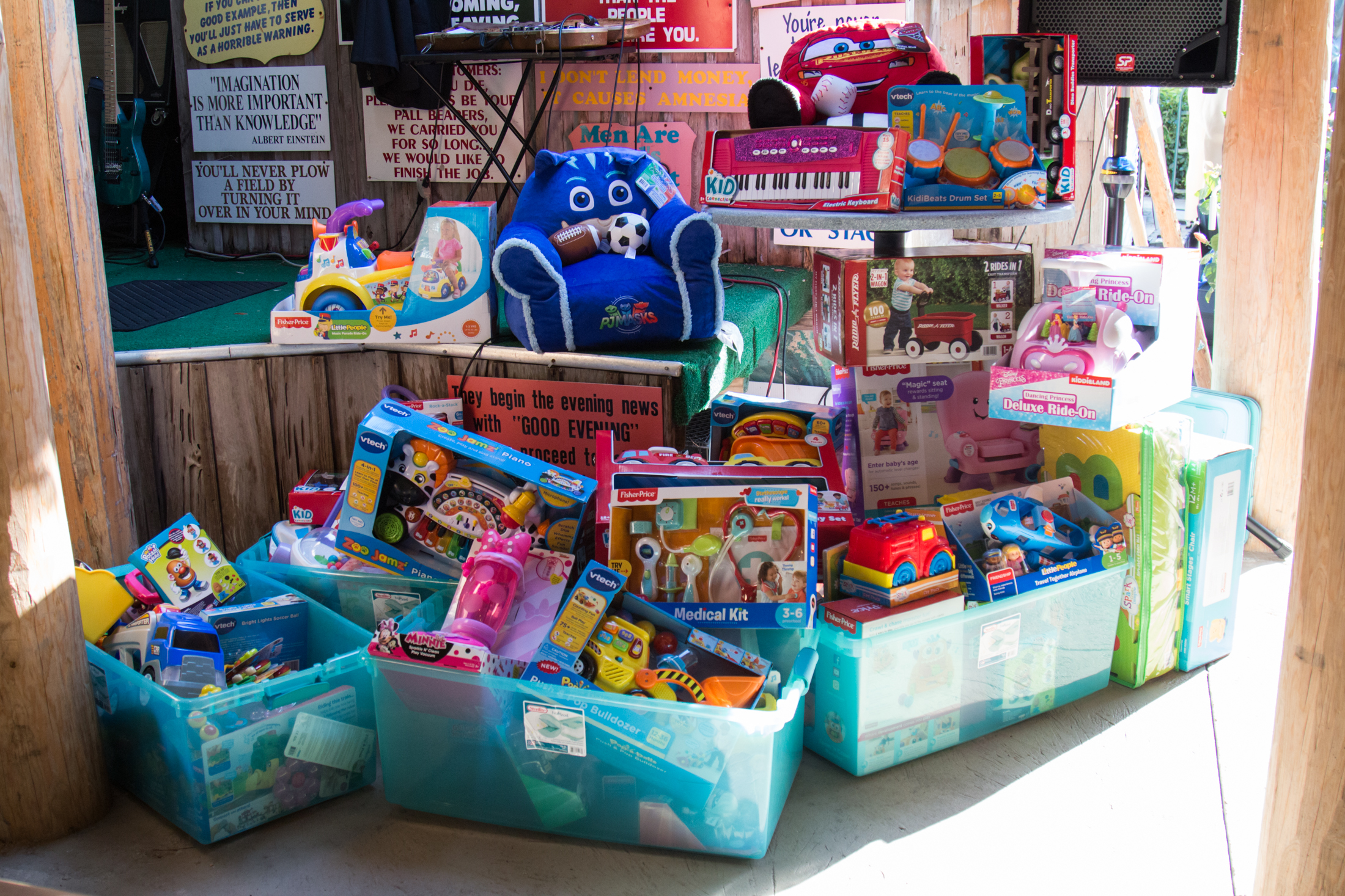 Toys donated to Martin Health System